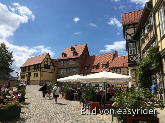 Wie immer Käsekuchen in Quedlinburg