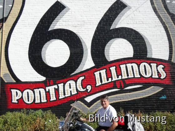 Route 66, Leider keine Indian!
