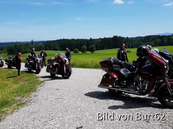 Roadmaster Team & Friends unterwegs, kurz vor der Kreutalm