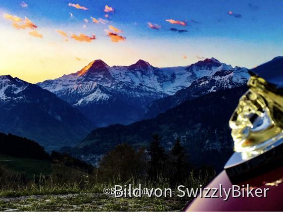 Eiger, Mönch, Jungfrau & Indian