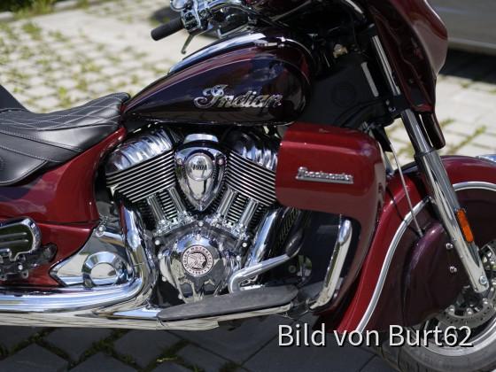 Burt's Roadmaster 2021, 116 CUI, Maroon/Crimson