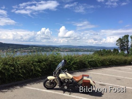 Heute oberhalb Steckborn am Bodensee
