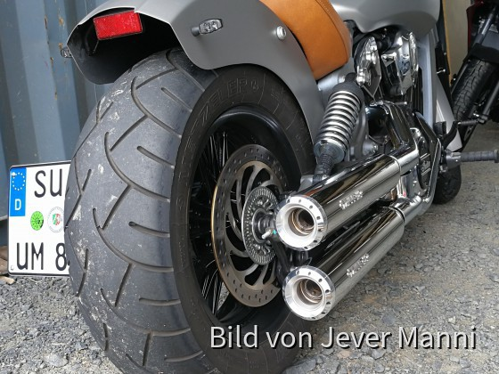 Heck meiner Indian Scout