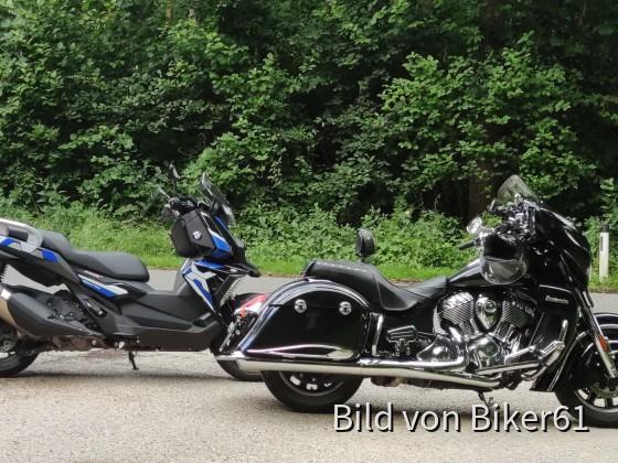"""Der """"Willy"""" meiner Frau, BMX C400X und mein schwarzer """"Willy"""""""